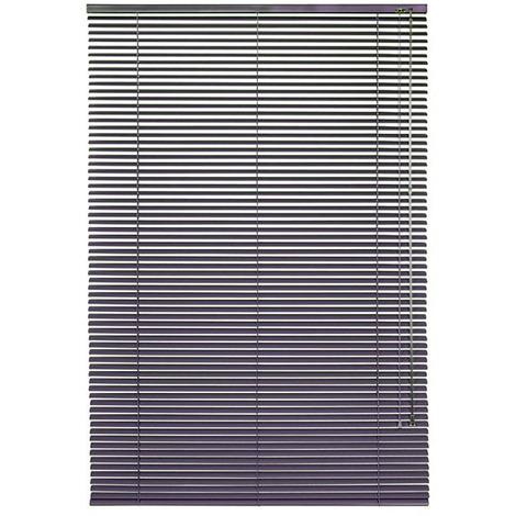 Luxury Metal Venetian Blinds 80 x 175cm Purple Aluminium Blinds with 25mm Slats