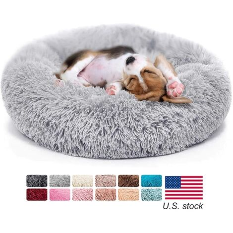 Luxury Soft Dog Bed for Cats, Non-slip, Machine Washable Base, Durable Mat, Dog & Cat Bed