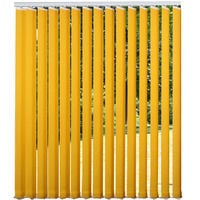 Luxury Vertical Blind 300cm Wide x 260cm Drop Quality Complete Set - Yellow