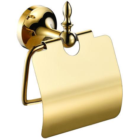 Luxus Toilettenpapierhalter Toilettenpapier Halter Massiv Wandmontage Sanlingo Gold
