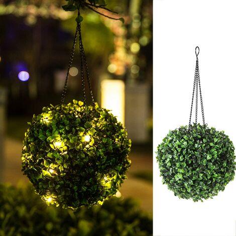 Luz colgante para exteriores - Linternas solares para colgar luces al aire libre Luces solares impermeables para jardín para patio, patio, porche, balcón, regalo - 8 pulgadas - Cálido