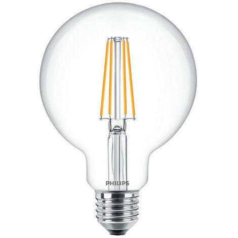 Luz de bulbo del Globo de filamento Led Philips de 7W E27 2700K PHILEDGL60