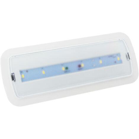 Luz de emergencia LED 3W 250LM 3 hrs de autonomía