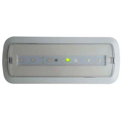 Luz de Emergencia LED 3W + Kit Techo Luz NO Permanente