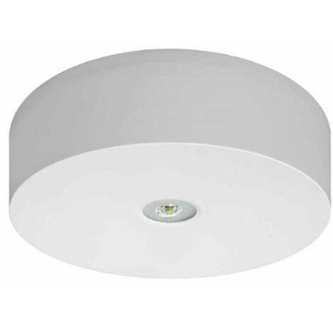 Luz de emergencia LED de superficie AXN 120LM IP20
