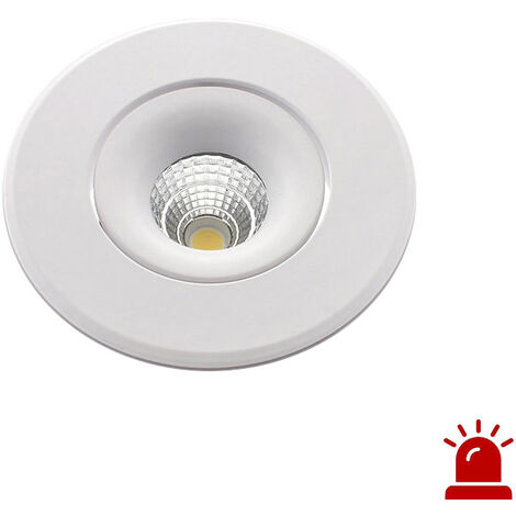 Luz de emergencia LED LUXON, 12W, Permanente / No permanente