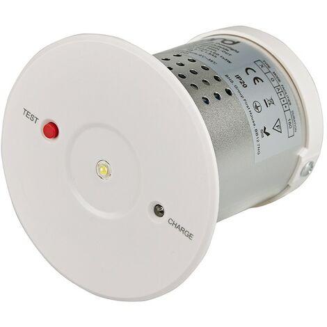 Luz de Emergencia LED Recargable de 3W Batería 3 Horas Uso en Interiores