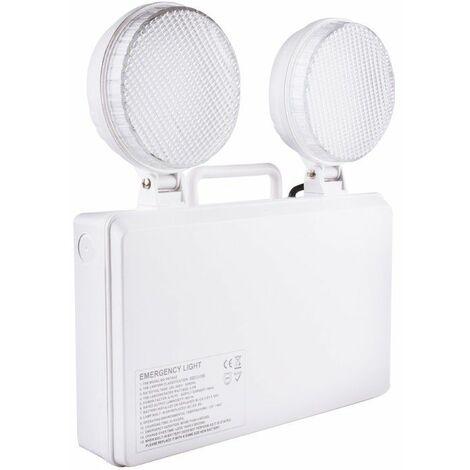 Luz de Emergencia LED TwinSpot Circular 3W