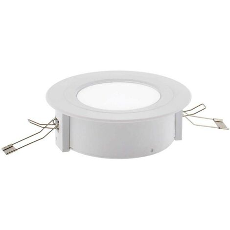 Luz de emergencia LED ZOR, Superficie / Empotrado, Blanco frío - Blanco frío