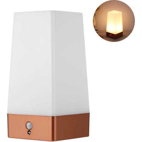 Luz de noche LED de escritorio PIR Motion Sensor, para cocina de pasillo