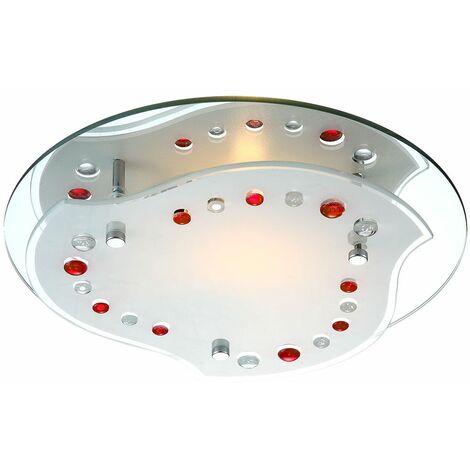 luz de techo de iluminación de techo lámpara de la luz de techo accesorio de cromo Globo NOLO 48505