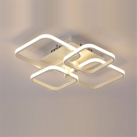 Luz de techo LED moderna rectangular simple modificada para requisitos particulares para la sala de estar del estudio 220v