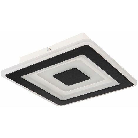 Luz de techo LED RGB inteligente control remoto lámpara de foco de luz diurna aplicación regulable control de teléfono móvil Globo 48010-24SH