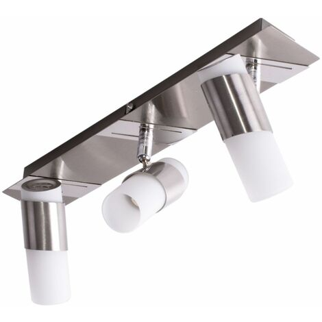Luz de techo LED sala de dormir spot spotlight cromo luz / riel ajustable