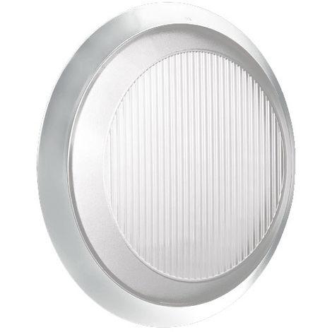 Luz de techo redonda Lombardo EXCEL PLANA BLANCO 2X9W IP54 LB27141