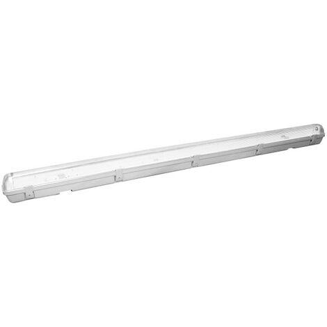 Luz de techo resistente a la intemperie en blanco podemos ofrecer y asesorar a 120 cm para 1 tubo de T8 LED 400755-36LED