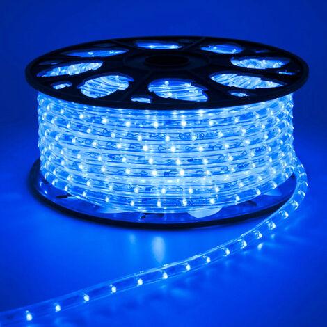 Luz del tubo del LED de Navidad Wimex AZUL de la bobina de 45 metros 4502523X