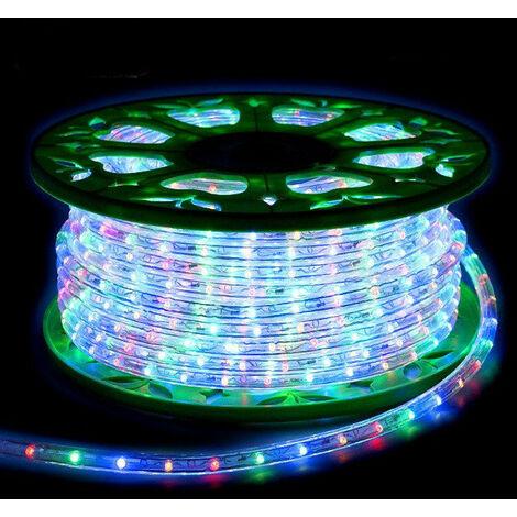 Luz del tubo del LED de Navidad Wimex Multicolor de la bobina de 45 metros 4502525X