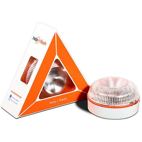 Luz Emergencia Coche V-16 86X52 MM - HELP FLASH - HELP