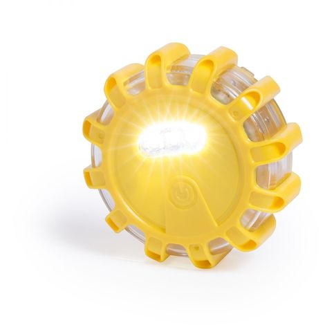Luz Emergencia Trend Amarillo