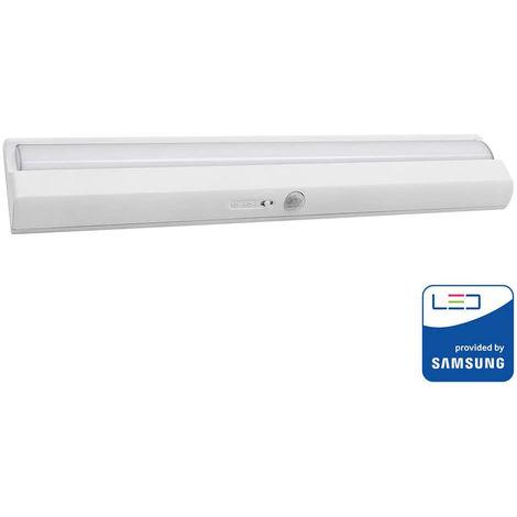 Luz LED Armario rectangular 4000K 1.5W IP20 con sensor de movimiento y chip Samsung PRO