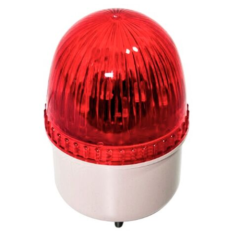 Luz LED de avertencia roja para garaje