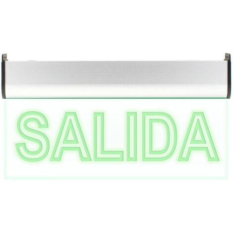 Luz LED de emergencia SIGNALED SL01 Permanente, Verde - Verde