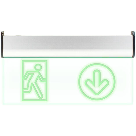 Luz LED de emergencia SIGNALED SL02 Permanente, Verde - Verde