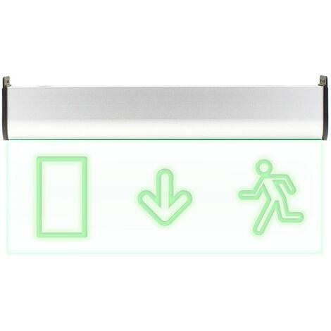 Luz LED de emergencia SIGNALED SL03 Permanente, Verde - Verde