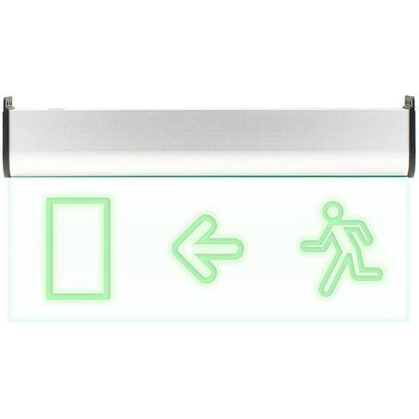 Luz LED de emergencia SIGNALED SL04 Permanente, Verde - Verde