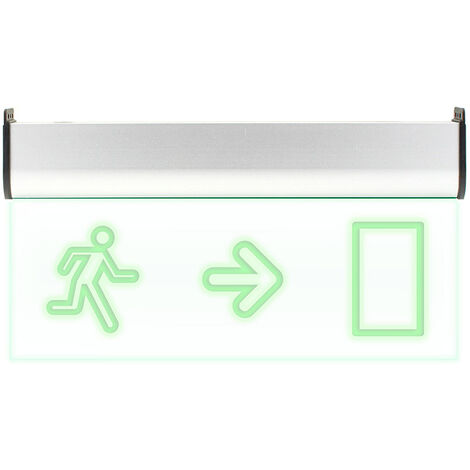 Luz LED de emergencia SIGNALED SL05 Permanente, Verde - Verde