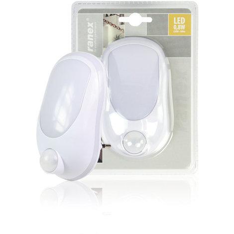 Luz LED de noche con detector de movimiento Ranex
