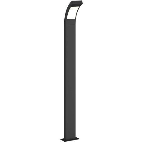 Luz LED de senderos Juvia en aluminio gris grafito