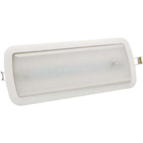 Luz led emergencia superficie 3w