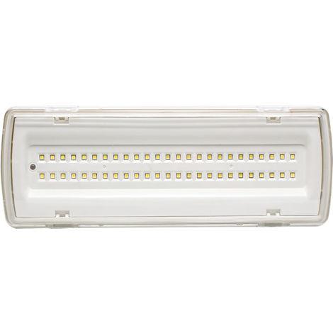 Luz led emergencia superficie 4w ip20