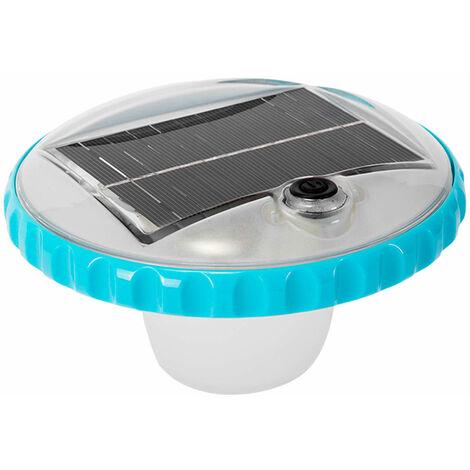 Luz LED flotante de carga solar para piscinas (Intex 28695)