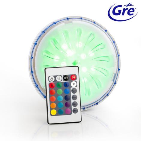 Luz LED imán de colores piscina elevada GRE PLED1C PLED1C