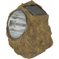 Luz LED solar en forma de roca Ranex