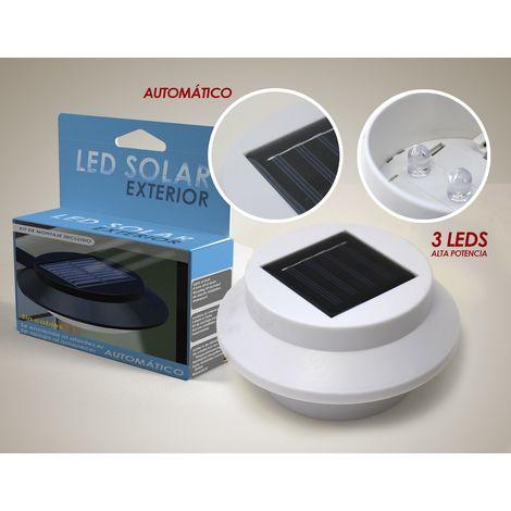 Luz Led Solar para Exteriores