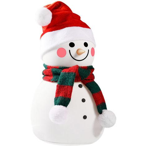 Luz muñeco de nieve Led de silicona con modo música USB (F-Bright 2400610)