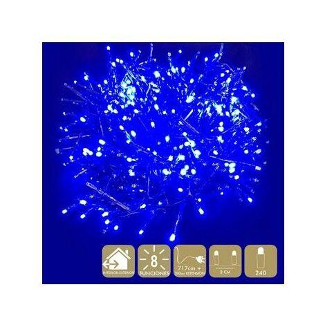 Luz Navidad 8 Funciones Best Products Az Led 240 Luces