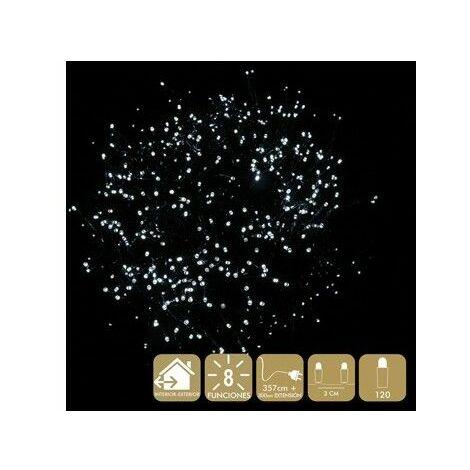 Luz Navidad 8 Funciones Best Products Bl Led 120 Luces