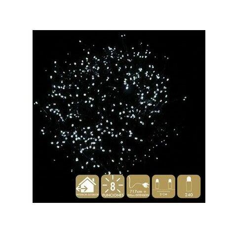 Luz Navidad 8 Funciones Best Products Bl Led 240 Luces
