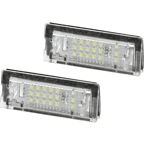 Luz placa matrícula bombilla luces módulos reemplazo 2 piezas BMW 5 Touring E39