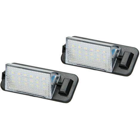 Luz placa matrícula set 2x LED BMW 3 Series E36 Touring Compact Cabriolet 92-98