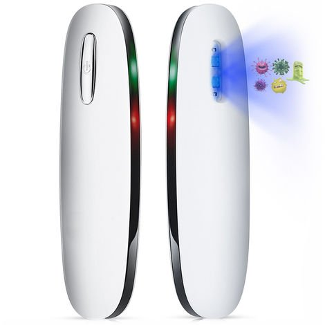 Luz portatil desinfectante UVC, lampara de desinfeccion germicida UV