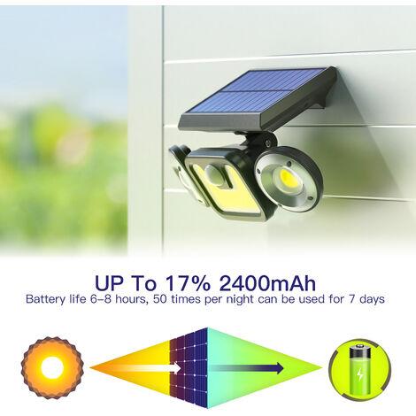 Luz solar, aplique solar de pared,PC 1