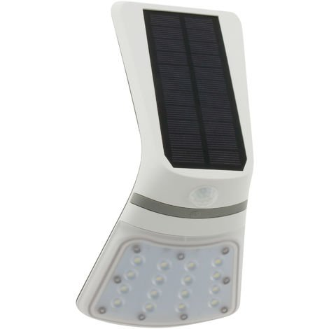 Luz solar de exterior LED con sensor de movimiento - Elexity