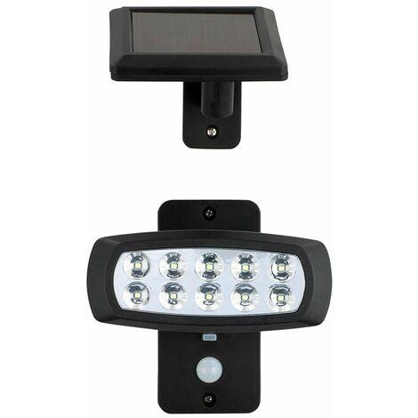 Luz solar LED luz exterior iluminación detector de movimiento lámpara HARMS 103117