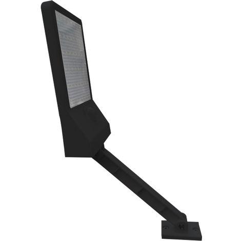 Luz solar para jardin, luz con sensor de movimiento, 48 LED, Concha negra, 1 piezas